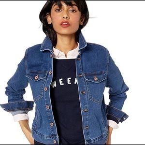 J. CREW MERCANTILE Button Closure Jean Jacket XL